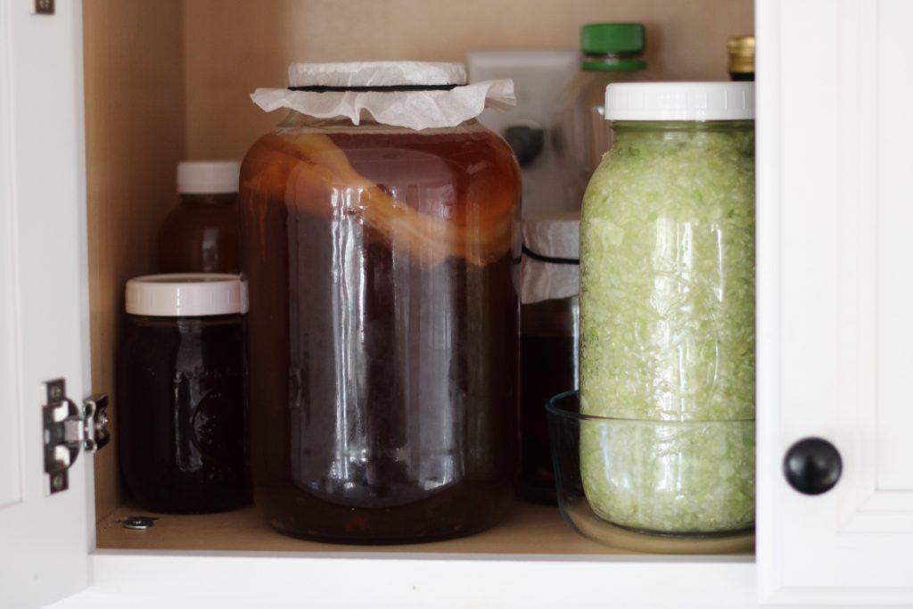 brew kombucha at home ferment